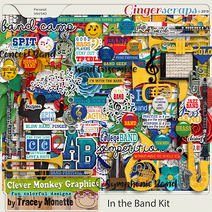 In the Band Kit by Clever Monkey Graphics