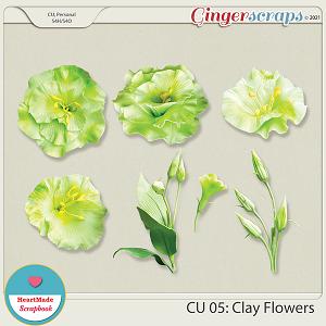 CU 05 - Clay flowers