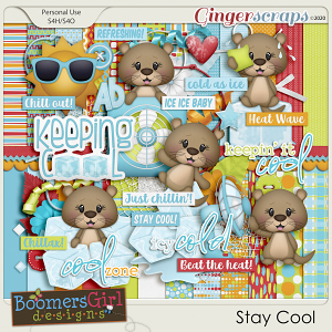Stay Cool by BoomersGirl Designs