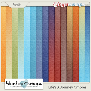 Life's A Journey Ombre Papers