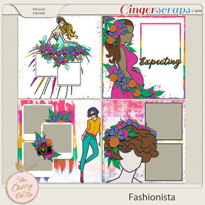 The Cherry On Top:  Fashionista Templates