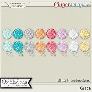 Grace Glitter CU Photoshop Styles