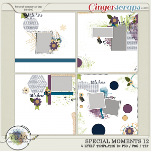 Special Moments- VOL.12 - Templates - by Neia Scraps