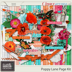 Poppy Lane Page Kit by Aimee Harrison