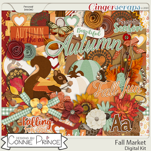 Fall Market - Kit by Connie Prince