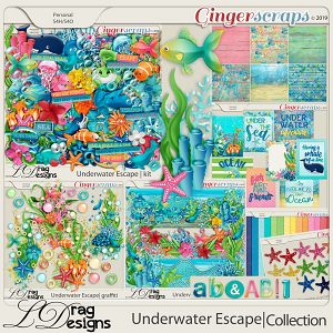 Underwater Escape: The Collection by LDragDesigns