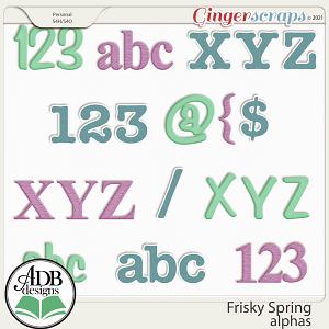 Frisky Spring Alphas by ADB Designs