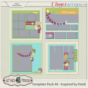 Template Pack 48 by Scraps N Pieces