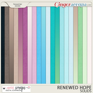 Renewed Hopes - Solids - by Neia Scraps