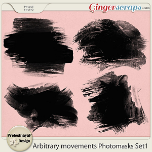 Arbitrary movements Photomasks Set1