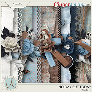 No Day But Today Borders by Ilonka's Designs