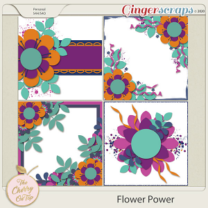 The Cherry On Top Flower Power Templates