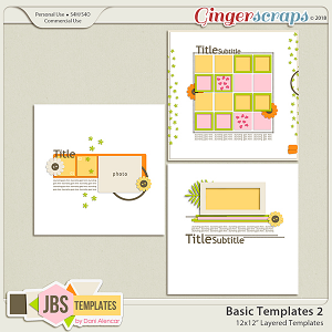 Basic Templates 2 by JB Studio