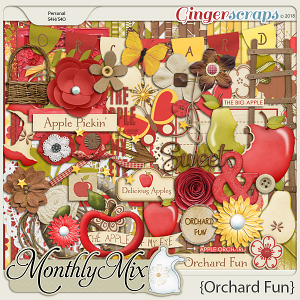 GingerBread Ladies Monthly Mix: Orchard Fun