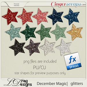 December Magic: Glitterstyles by LDragDesigns