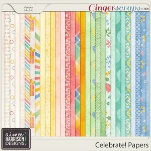 Celebrate Paper Pack by Aimee Harrison