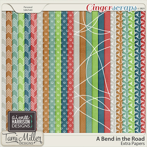 A Bend in the Road Extra Papers by Tami Miller and Aimee Harrison