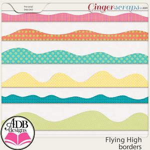 Flying High Borders by ADB Designs