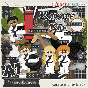 Karate is Life- Black