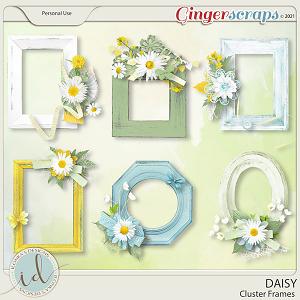 Daisy Cluster Frames by Ilonka's Designs