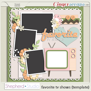 Favorite TV Shows Template by Shepherd Studio