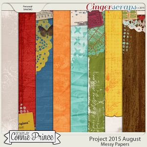 Project 2015 August - Messy Paper Pack