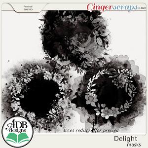 Delight Masks by ADB Designs