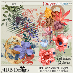 Old Fashioned Fright Heritage Blendables by ADB Designs
