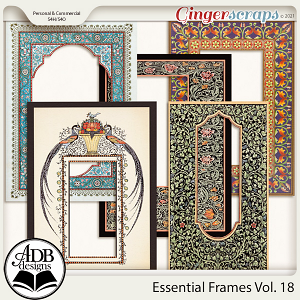 Essential Frames Vol 18 by ADB Designs