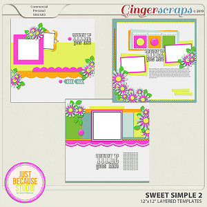 Sweet Simple Templates 2 By JB Studio