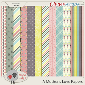 A Mother's Love Papers by Luv Ewe Designs