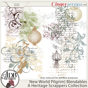 New World Pilgrim Blendables by ADB Designs