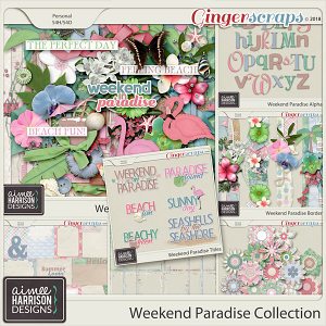 Weekend Paradise Collection by Aimee Harrison