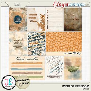 Wind Of Freedom Cards by JB Studio and PrelestnayaP Design