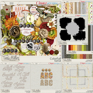 ColorFall Bundle by Tami Miller Designs