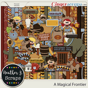 A Magical Frontier KIT by Heather Z Scraps