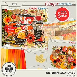 Autumn Lazy Days Bundle by JB Studio