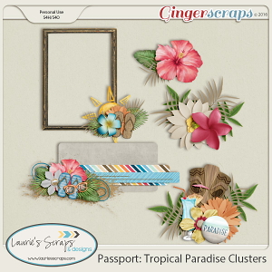 Passport: Tropical Paradise Clusters