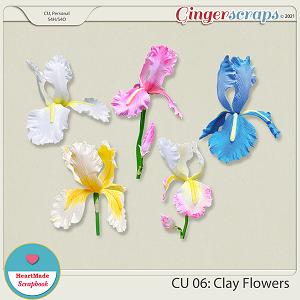 CU 06 - Clay flowers