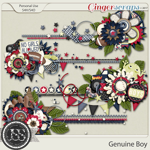 Genuine Boy Cluster Stitches