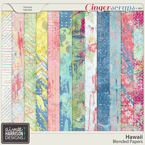 Hawaii Blended Papers by Aimee Harrison