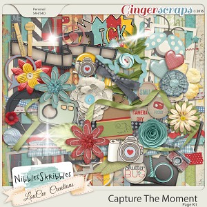 Capture The Moment Page Kit