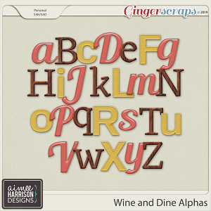 Wine and Dine Alpha Sets by Aimee Harrison