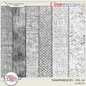 Transparencies - VOL 01 - by Neia Scraps - CU