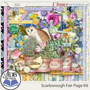 Scarborough Fair Page Kit by ADB Designs