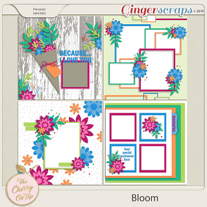 The Cherry On Top Bloom Templates