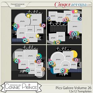 Pics Galore Volume 26 - 12x12 Temps (CU Ok) by Connie Prince