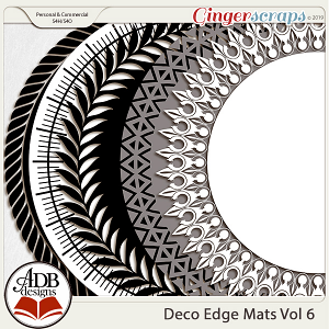 Deco Mats Vol 06 by ADB Designs