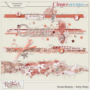 Ocean Beauty Artsy Strips