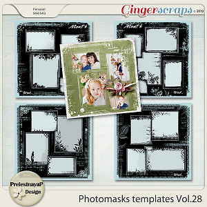 Photomasks templates Vol.28